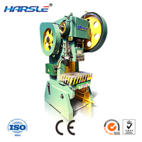 Low price Power press silicon coil playing card punching machine JH21 100T