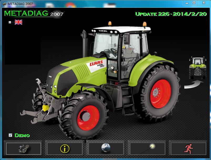 FORCLAAS MetaDiag 2007 (Update 2014) unlimited install