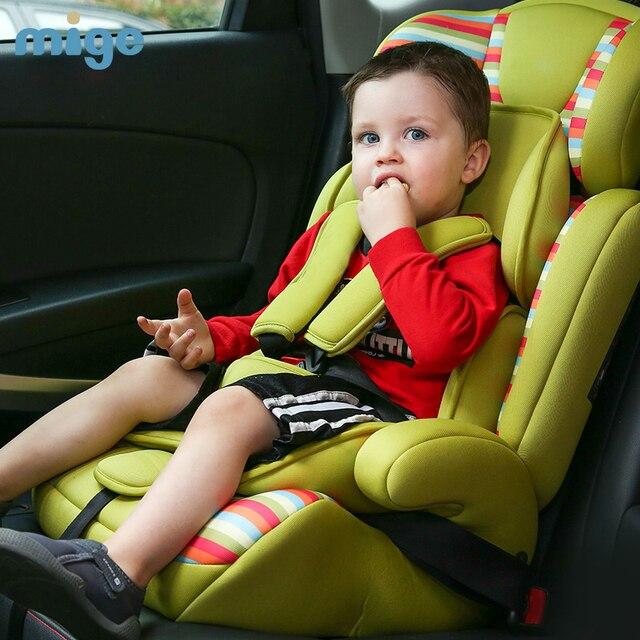 Europen ECE Сиденья Ребенка Автомобилей Безопасности высокое качество isofix ребенок автокресло для 9 месяцев-12 лет дети мальчики девушки