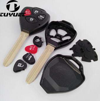 4 Button Toyota Camry Remote key shell (1)