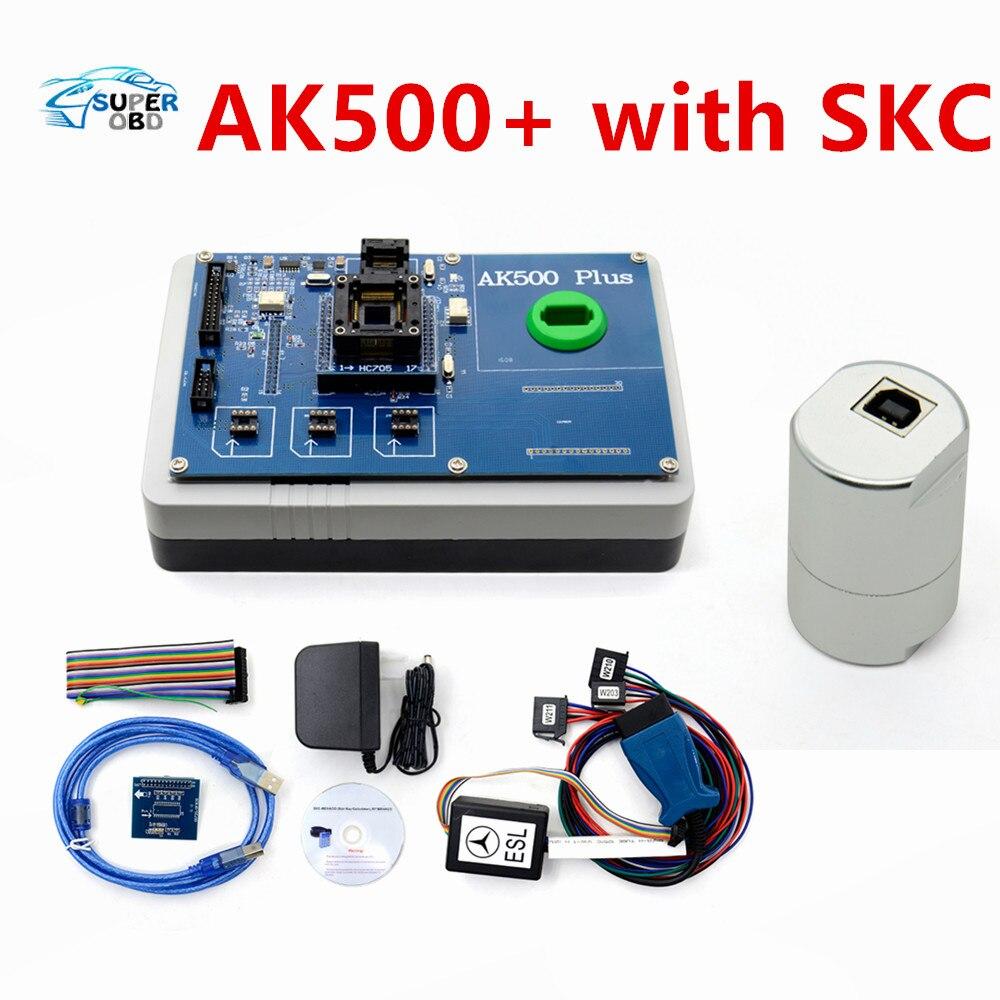 AK500+ AK500 Key Programmer for Mercedes-Benz With EIS SKC Calculator AK500 Pro for Mercedes AK500 Key Programmer
