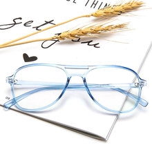 New Fashion Women Glasses Frame Men Black Eyeglasses Vintage Round Clear Lens Optical Spectacle  Fake Glasse