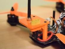 DIY FPV mini quadcopter refit part 3D Print video transmission + TX60 plug mounts for ZMR250 FPV mini drone