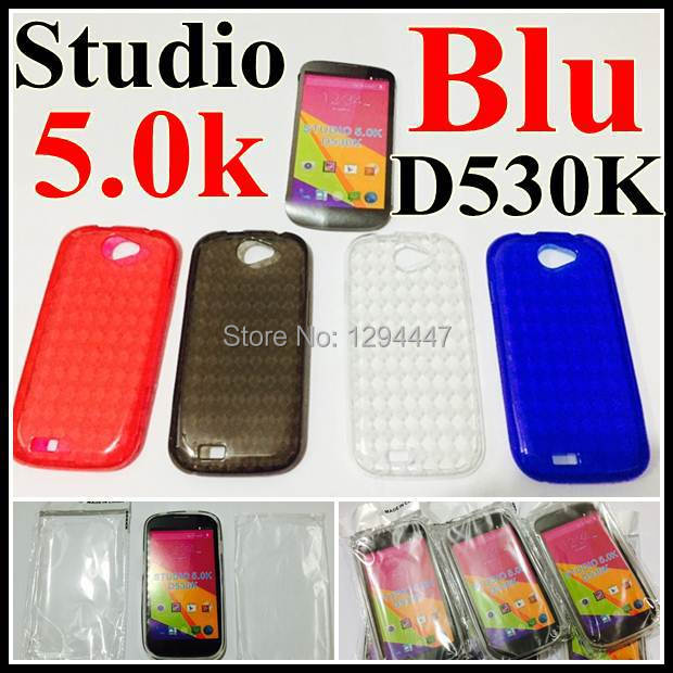 premium selection 107bc 8eeb8 US $755.0 |USA Hot Pone cover Colorful Transparent Phone case For Blu  Studio 5.0k / D530k Diamond Design Soft TPU Mobile phone Case Cover on ...