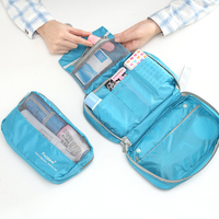 Women Men Travel Kit Wash Bag Waterproof Travel Essential Portable Outdoor Travel Pouch Cosmetic