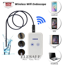 New Wireless Wifi Android iOS Endoscope Camera HD 720P Waterproof Borescope 9mm Mini Camera Drop Shipping