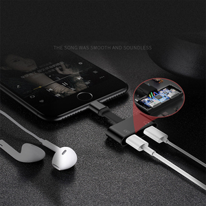 Image 5 - Suntaiho aydınlatma adaptörü kulaklık adaptörü 2 in 1 için iPhone 7 8 artı X şarj Splitter adaptörü için aydınlatma çift 8pin