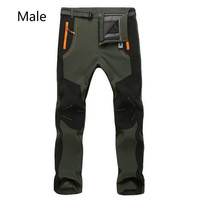 2017 New Winter Men Women ski Pants Outdoor Softshell Trousers Waterproof Windproof Thermal for Camping Ski snow pant S 5XL