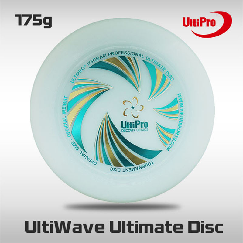 Prix pour WFDF Approuvé Livraison Gratuite 175g Professionnel Ultime Disque Ultipro Ultimate Frisbee Vague Night Glow