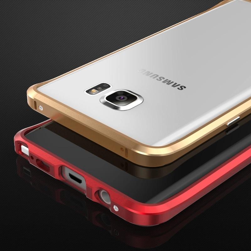 Цена за Новый благородной роскоши Бампер для Samsung Galaxy Note 5 Алюминиевый чехол для Samsung Note 5 металлический бампер Расширенный сплава Рамка Note5