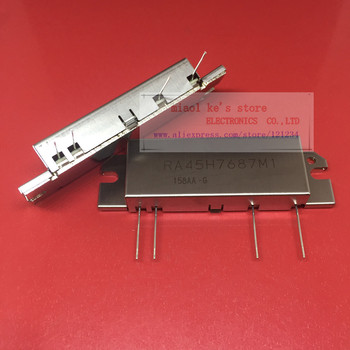 100%New original; RA45H7687M1 RA45H7687M1-101 [ 764-870MHz 45W 12.8V, PACKAGE CODE: H2M 2 Stage Amp. For MOBILE RADIO ]