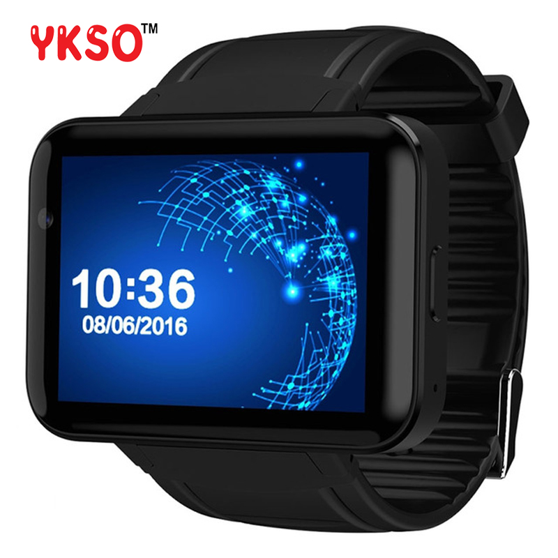 YKSO Bluetooth smart watch 2.2 inch Android 4.4 OS 3G GPS watch DM88 wearable devices MTK6572A Dual Core 1.2GHZ Smartwatch 2 2 inch smartwatch 1 3 mega hd camera bluetooth bt smart watch android 4 3 os 7 0 3g phone mtk6572a dual core 4gb rom wcdma gps page 8