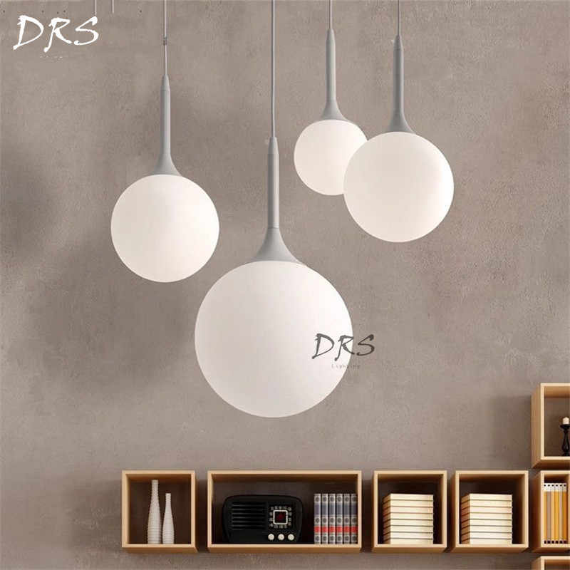 Modern Italy Spherical Glass Chandelier Lighting Castore Christmas Decor for Home Bedside Glass Hanging Light Fixture Led Lights