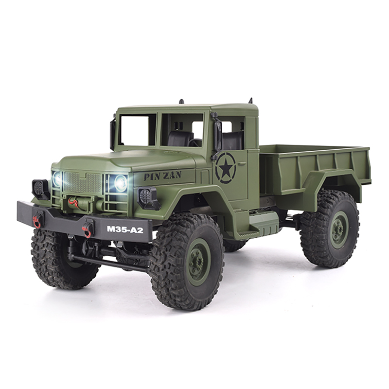 4WD RC Car 1:16 High Speed Military Truck Rock Rover Cars Remote Control Radio Controlled Off Road Vehicle Toys For Boys new rc car 1 18 short truck 4wd drift remote control car radio controlled machine high speed racing cars toys for boys machines