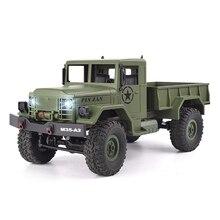 4WD RC autó 1:16 nagy sebességű katonai teherautó rock rover autók távirányító rádió vezérelt off road jármű játékok fiúknak