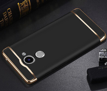 Luxury Protective Back Cover 3 in 1 Hard PC Hybrid Case For Huawei Y7 Prime 2017 TRT-TL00 / TRT-LX1 TRT-L21A TRT-L21X
