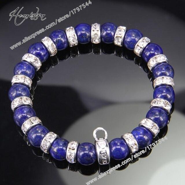 Браслет с бусинами thomas style lapis lazuli браслет Стразы
