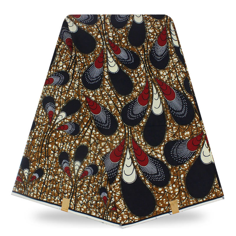 High quality ankara african wax print fabric 100% cotton African veritable nigerian wax fabrics for Sewing WX1344