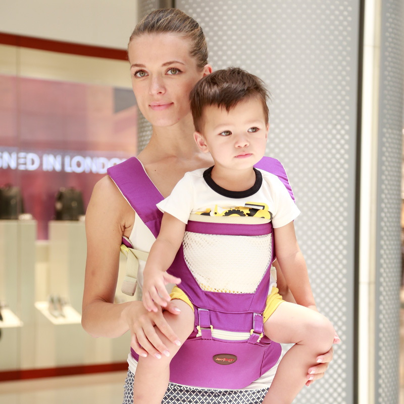 Jerrybaby  Multifunctional Infant Carrier Breathable Baby Backpack Kangaroo Children Slings Top Quality Hipseat Kangoroos hot baby carrier infant hipseat backpack children s backpack multifunction slings for babies cotton baby hipseat mochilas pt427