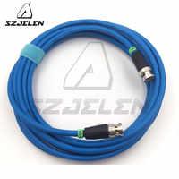 SZJELEN cable azul 12G HD SDI Cable Coaxial de Video... Neutrik BNC a BNC 75 Ohm Coax Cable CANARE LV-61S 75 OHM azul Cable de 5M