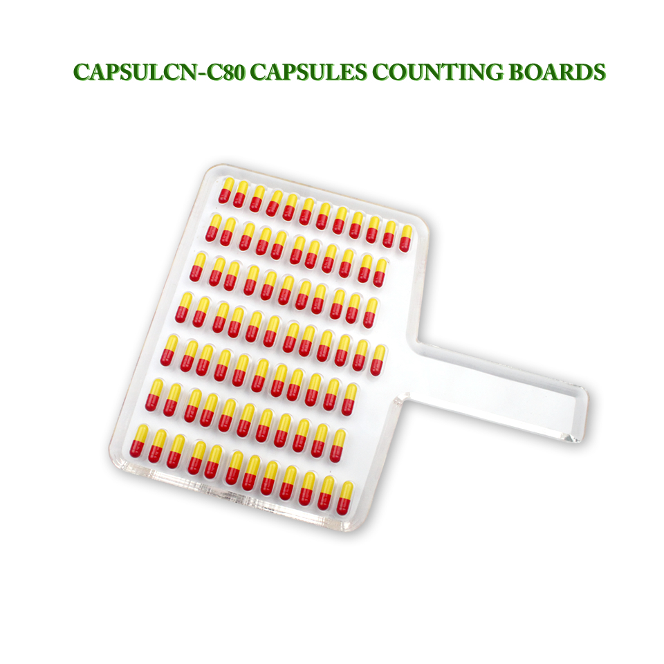 CN-80C Manual Tablet Counter/Pill Counter/Capsule Counter Board (Size 5-000) 220v 50hz pro stainless steel semi auto capsule counter for all capsule size 5 000