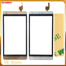 100% Test white&black color touch Panel For Ark benefit S502 Touchscreen Sensor Touch Screen Digitizer Replacement Front Glass(Hong Kong,China)
