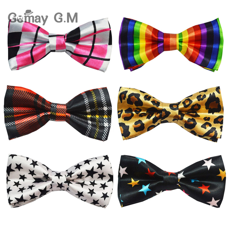 NEW Childrens Classic Bowtie Fashion 21 Colors Neckwear Adjustable Unisex Bow Tie Polyester Pre-Tied