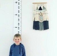 Children Kids Growth Chart Height Ruler Wall Sticker Ruler Growth Chart Wall Decal Height Measurement Sticker