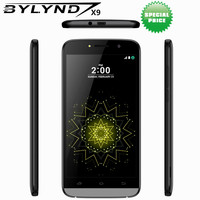 Original Cheap Celular BYLYND X9 Android 6 0 China SmartPhones 8G ROM Games 5MP MTK6580 Quad