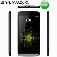 Original Cheap Celular BYLYND X9 Android 6 0 China SmartPhones 8G ROM Games 5MP MTK6580 Quad