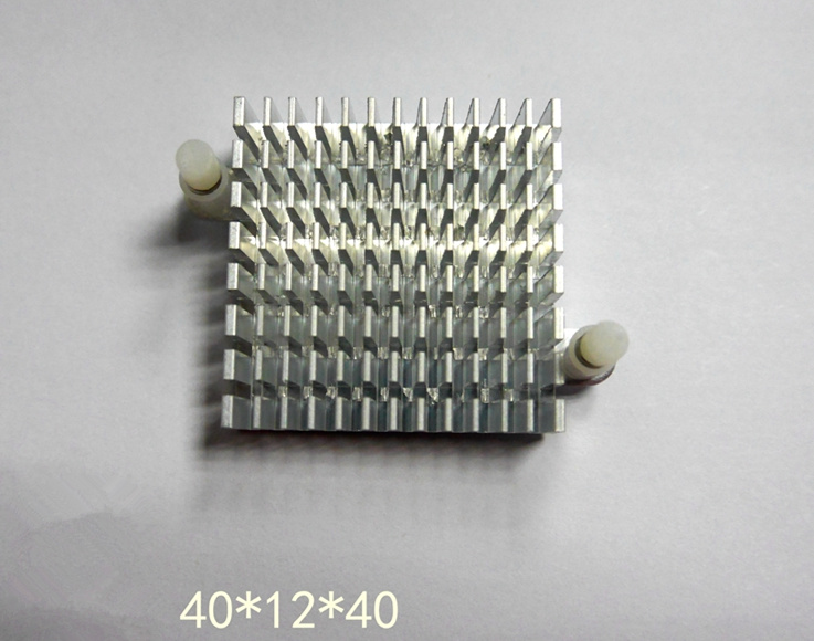 5PCS New high quality electronic radiator 40*12*40mm motherboard chip cooling fin break trough with climbers customized heatsink