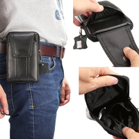Belt Clip Genuine Mobile Phone Cow Leather Case Holster Pouch For Galaxy E7 A7 C7 Pro
