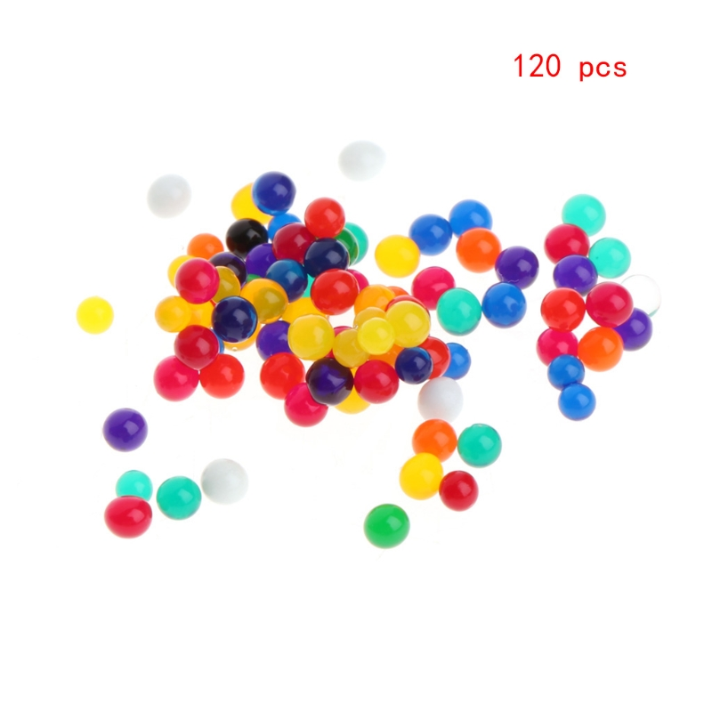 1Bag 120 grains Colorful Crystal Beads Water Plant Soil Mud Flower Jelly Hydro Gel Pearl Balls