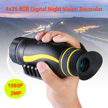 BOBLOV 4X Digital Zoom Night Vision Monocular Goggle Hunting 200M Infrared Camera Function For