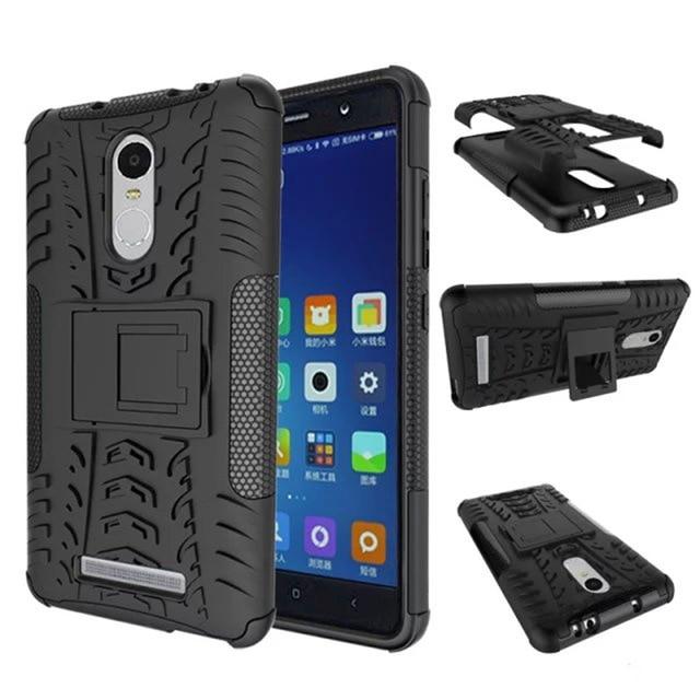 wholesale dealer b045e 9de06 US $3.98 |For Xiaomi Redmi Note 4 Case Phone Case Shockproof Robot Armor  Hybrid Rubber Hard Back Cover For Redmi Note 4 Pro Prime 5.5 inch on ...