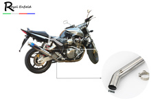 CB1300 Stainless Steel Mid Pipe Motorbike Motorcycle Exhaust Muffler Middle Link for HONDA CB1300