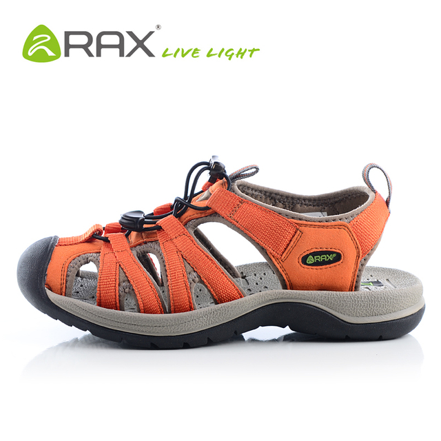Women's Rubber Sole Lace UP Hiking Beach Athletic Sandals