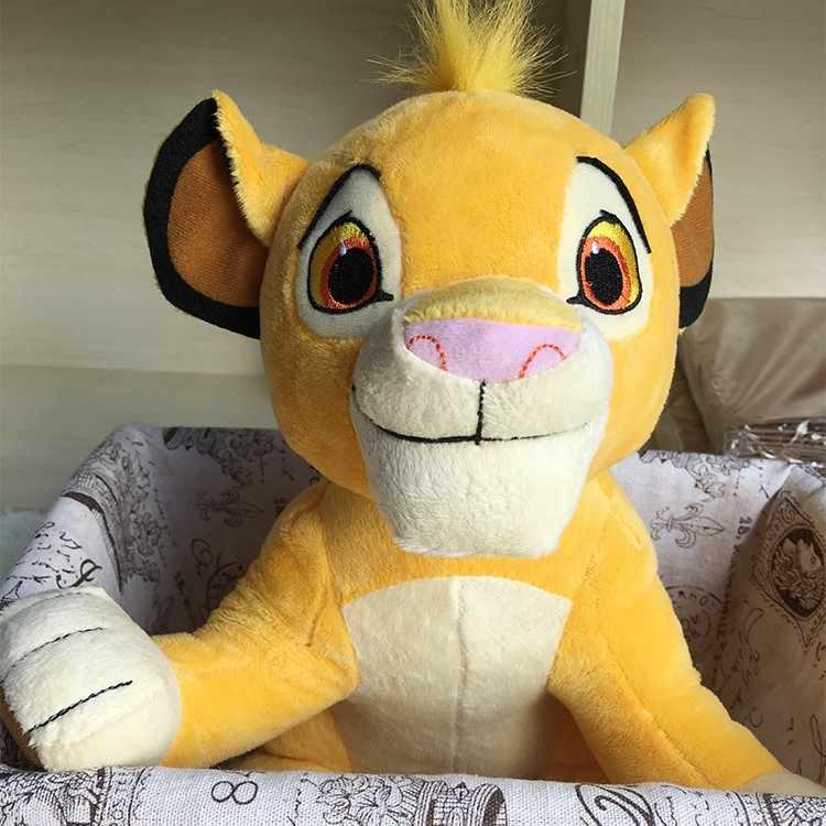 2019 Nova 30cm O Rei Leão Simba Suave crianças Bichos de pelúcia Crianças Brinquedos de Pelúcia boneca 11.8 ''Jovem Simba presentes do brinquedo Frete Grátis