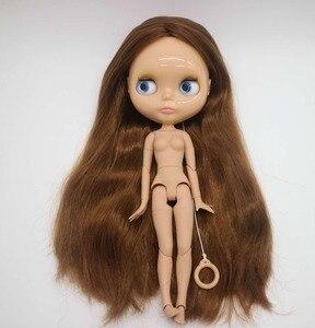 Image 3 - Poupée Blyth nue de corps commun, poupée dusine, appropriée pour la peau de bronzage de cheveux bruns de bricolage 20181029