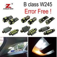 14 шт. светодиодный номерной знак лампа+ внутренний светильник комплект для Mercedes-Benz B класс W245 B150 B160 B170 B180 B200(05-11