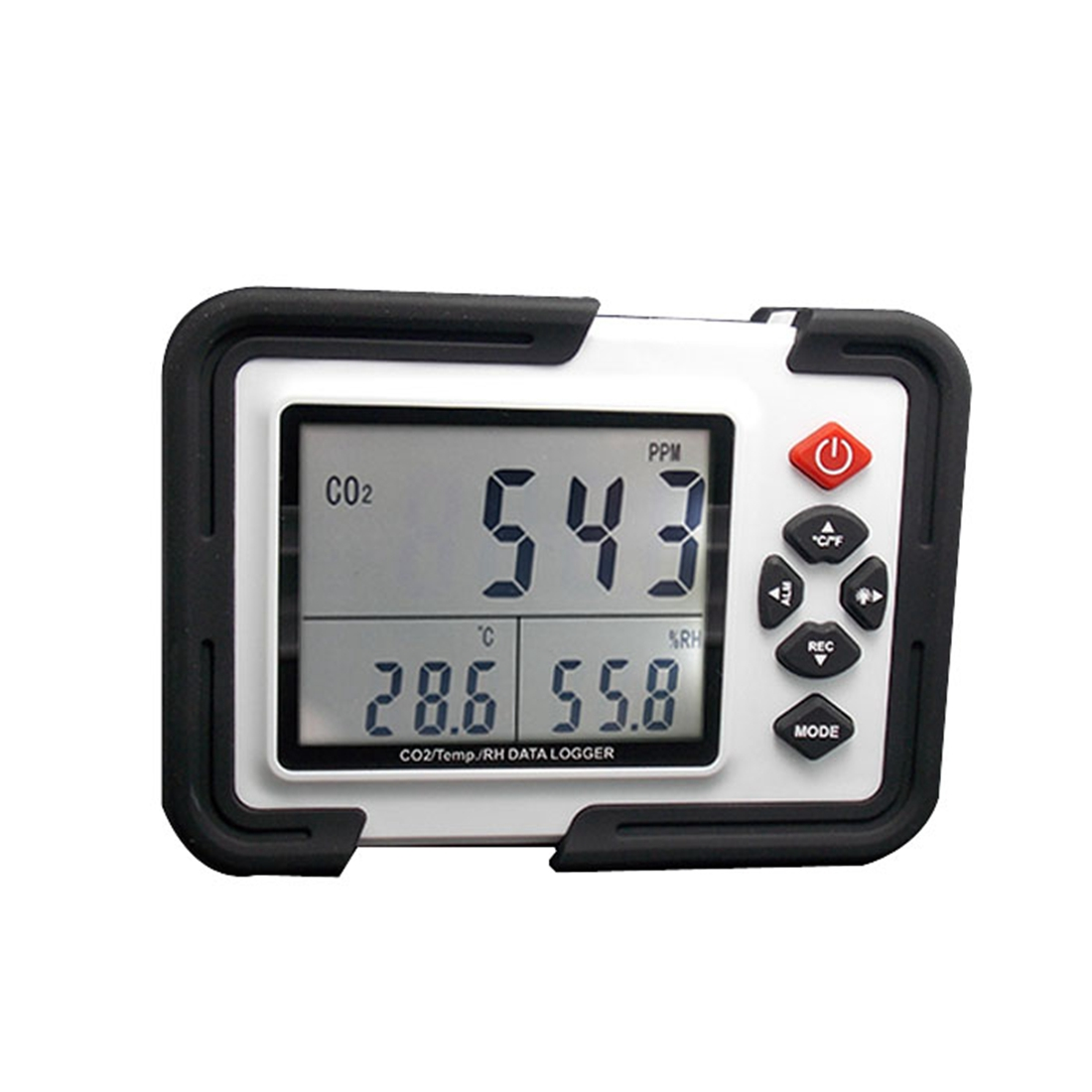 US Plug XINSITE HT 2000 Digital Carbon Dioxide Monitor CO2 Detection Analyzer Thermo Hygrometer Greenhouse Gas