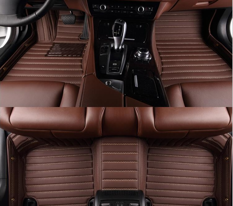 Bueno! Alfombras especiales para Mitsubishi outlander 5 asientos 2018-2013 alfombras impermeables para outlander 2017, envío libre