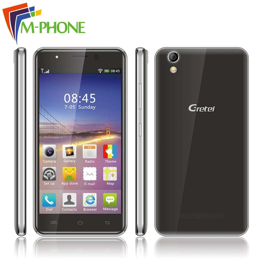 Original Gretel G1 Mobile Phone 5 0 inch 3G Smartphone Android 5 1 Quad Core 1