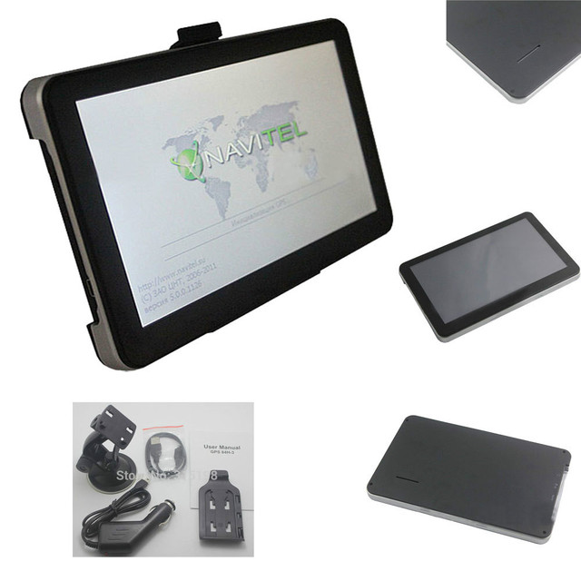 High quality 7 inch 800Mhz auto GPS navigation, DDR 128 MB,NEW 2015 Navitel 8.5 maps for Russia, FM, Russia Belarus Kazakhstan