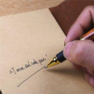 Image 4 - Wood grain 0.5mm gel pen plastic pen rubber slip grip School office writing gift supplies