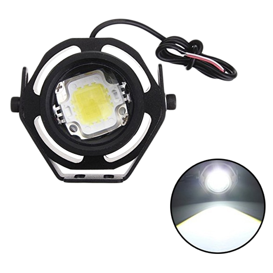 Tonewan New arrive 2Pcs Waterproof Car DRL LED Eagle Eye Light 10W  Car Fog Daytime Running Light Reverse Backup Parking Lamp new arrival a pair 10w pure white 5630 3 smd led eagle eye lamp car back up daytime running fog light bulb 120lumen 18mm dc12v