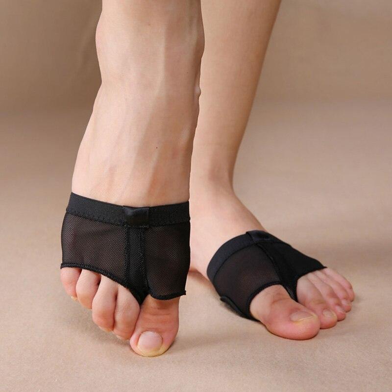 Half Soles Ballet Dance Gym Belly Foot Thong Slipper for Girls Ladies Kids