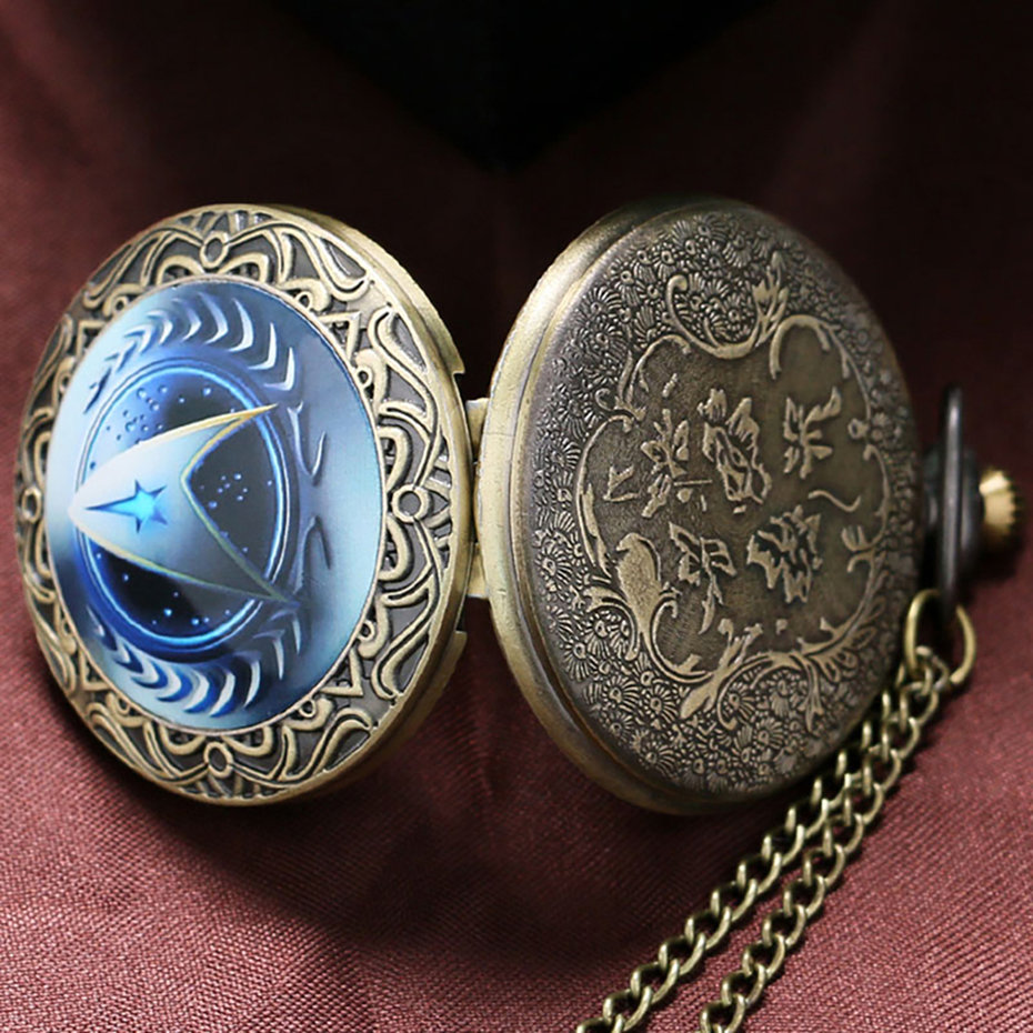 Practical Hot Selling Doctor Who Theme Glass Dome Case Design Pocket Watch With Necklace Chain Pocket & Fob Watches