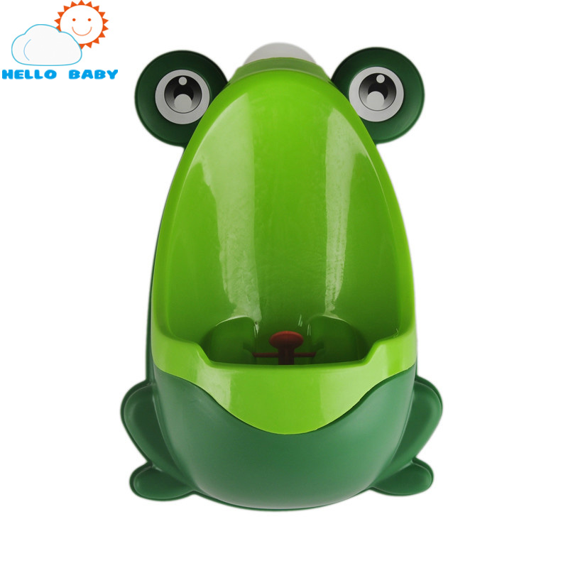 new cute animal design Plastic stand urine baby toilet Seat cover with frog drawer potty toilet small infants and young children
