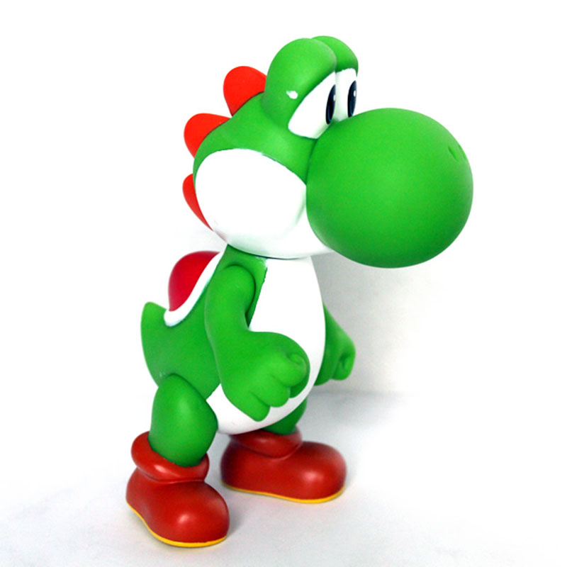 """Super Mario Bros YOSHI GREEN 5/"""" or 12.5 cm Poseable Action Figure Toy GIFT"""